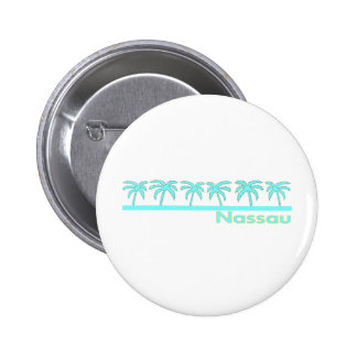 Nassau, Bahamas Pin Redondo De 2 Pulgadas