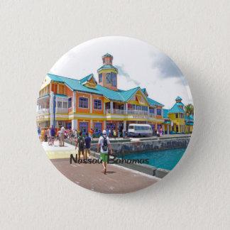 Nassau Bahamas Pinback Button