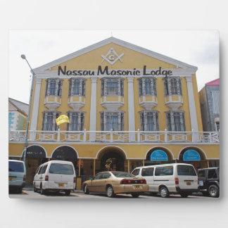 Nassau Bahamas Plaque
