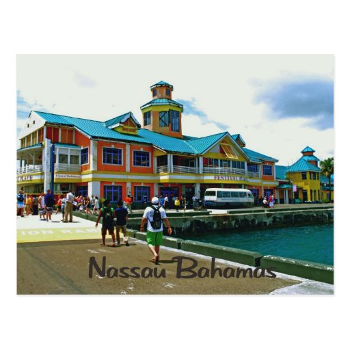 Nassau Bahamas Post Card