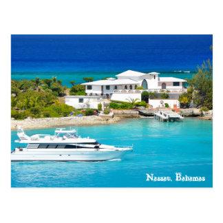 Nassau, Bahamas Post Card