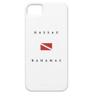 Nassau Bahamas Scuba Dive Flag iPhone SE/5/5s Case