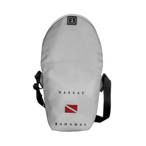 Nassau Bahamas Scuba Dive Flag Courier Bag