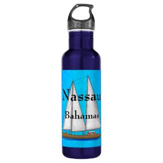 Nassau Bahamas Stainless Steel Water Bottle