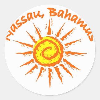 Nassau, Bahamas Stickers