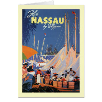 Nassau Bahamas Tarjeta De Felicitación