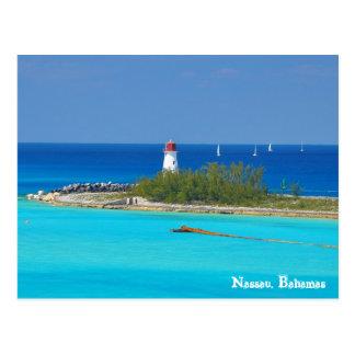 Nassau, Bahamas Tarjeta Postal
