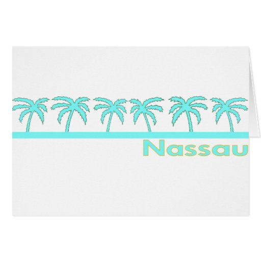 Nassau, Bahamas Tarjetón