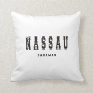 Nassau Bahamas Throw Pillow