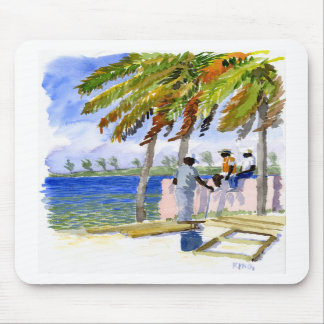 Nassau Beach mousepad