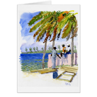 Nassau Beach note card