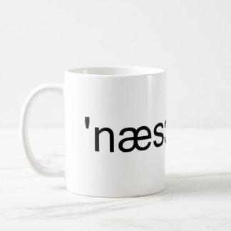 Nassau County Long Island Phonetic Spelling Coffee Mug