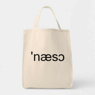 Nassau County Long Island Phonetic Spelling Tote Bag