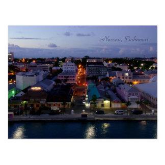 Nassau despierta personalizado tarjeta postal