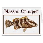 Nassau Grouper Card