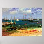 Nassau Harbor by Albert Bierstadt Print
