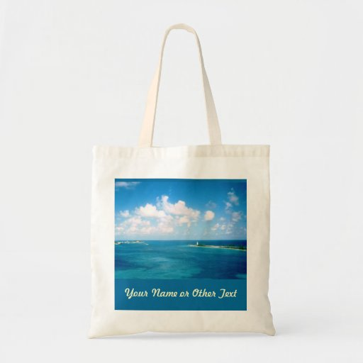 Nassau Harbor Custom Tote Budget Tote Bag