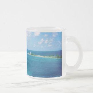 Nassau Harbor Personalized Frosted Mug