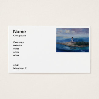 Nassau Harbour Lighthouse Business Card