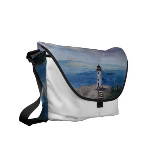 Nassau Harbour Lighthouse Courier Bag