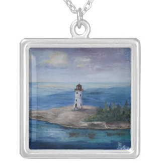 Nassau Harbour Lighthouse Custom Necklace