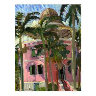 Nassau Library postcard