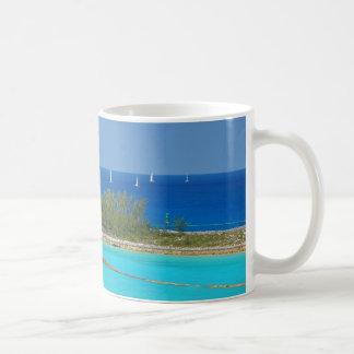 Nassau Lighthouse Classic White Coffee Mug