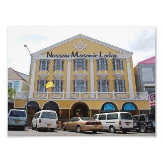 Nassau Masonic Temple Photograph