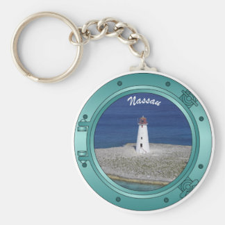 Nassau Porthole Keychain