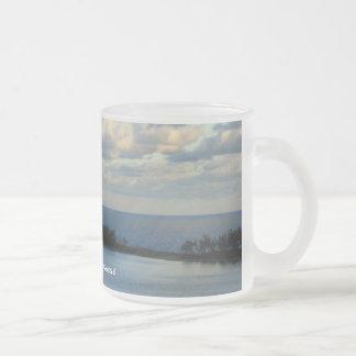 Nassau Sea View Frosted Glass Coffee Mug