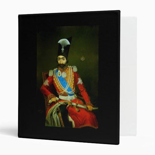 Nasser al-Din Shah Qajar, Shah of Persia 3 Ring Binder