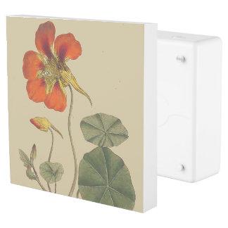 Nasturtium Flowers Floral Inlet Outlet Cover