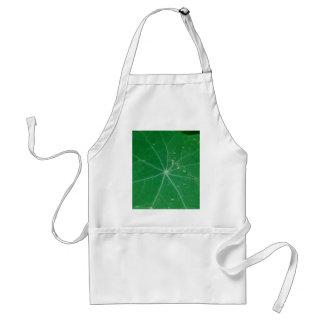 nasturtium leaf adult apron