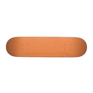 Nasturtium Orange in an English Country Garden Skateboard