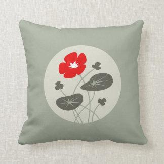 Nasturtium (Throw Pillow) Pillow