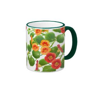 Nasturtium Vines Mug