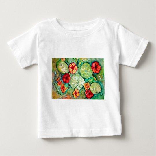 Nasturtium Water Fantasy Baby T-Shirt