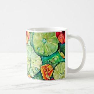 Nasturtium Water Fantasy Coffee Mug