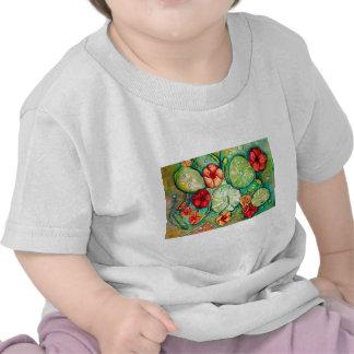 Nasturtium Water Fantasy Tee Shirts