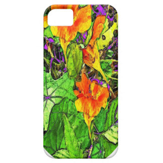 Nasturtiums Garden Oval Gifts by Sharles iPhone SE/5/5s Case