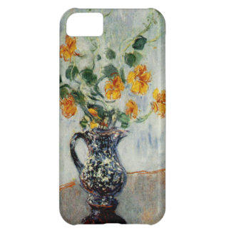 Nasturtiums in a Blue Vase by Monet Cover For iPhone 5C