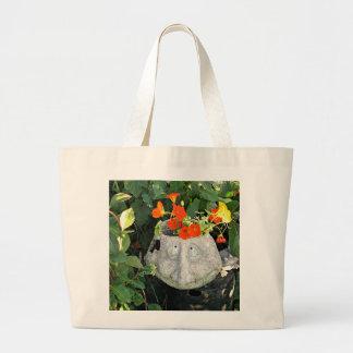 Nasturtiums Large Tote Bag
