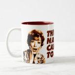 'Nasty Coffee' - KoffeeKat Two-Tone Coffee Mug