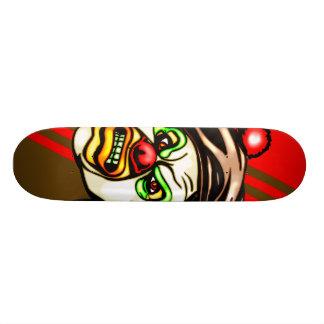 Nasty Evil Clown Skate Board Deck