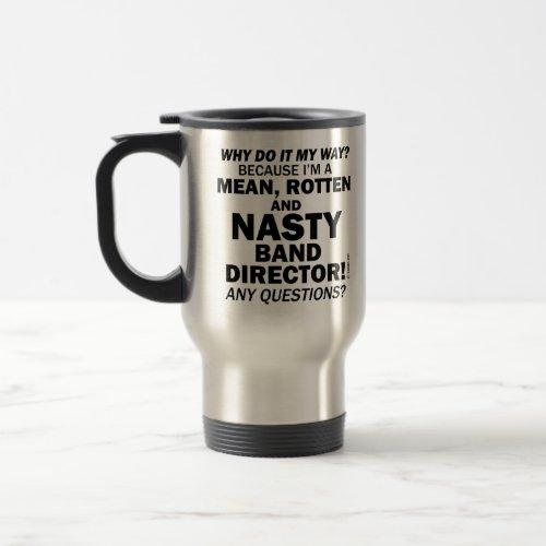 Nasty Handbell Director Travel Mug