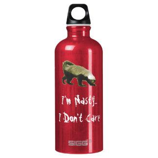 Nasty Honey Badger SIGG Traveler 0.6L Water Bottle