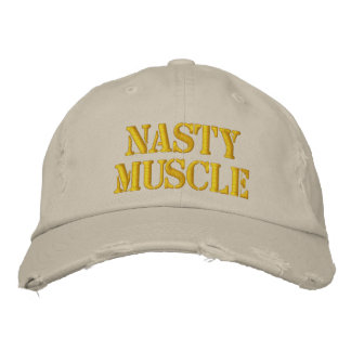 Nasty Muscle Distressed Cap