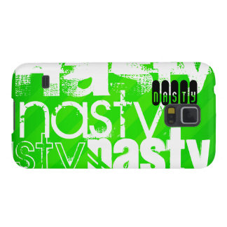 Nasty; Neon Green Stripes Cases For Galaxy S5