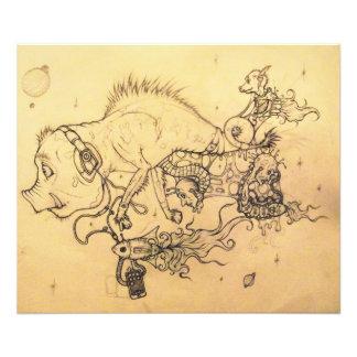 Nasty Pig (whole piece) Photo Print