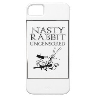 Nasty Rabbit Uncensored iPhone 5 Cover